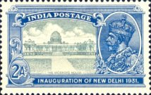 [Inauguration of New Delhi, type XBR]