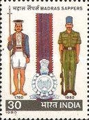 [The 200th Anniversary of Madras Sappers, type XL]