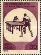 [The 5th Asian Table Tennis Championships, Calcutta, type XW]