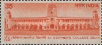 [The 100th Anniversary of Saint Stephen's College, Delhi, Typ ZD]