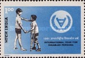 [International Year for Disabled Persons, Typ ZL]