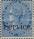 """[Postage Stamps Overprinted """"Service."""", Typ B]"""