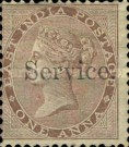 """[Postage Stamps Overprinted """"Service."""", Typ B2]"""