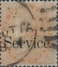"""[Postage Stamps Overprinted """"Service."""", Typ E2]"""
