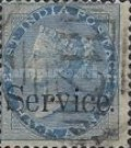 """[Postage Stamps Overprinted """"Service."""", Typ E4]"""