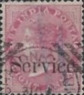 """[Postage Stamps Overprinted """"Service."""", Typ E5]"""