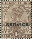 [Postage Stamp Surcharged