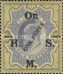 [Postage Stamps Surcharged, type Q]