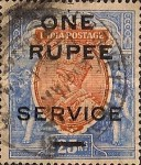 [Postage Stamps Surcharged
