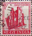 [India Postage Stamp of 1967 Overprinted