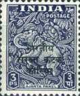 [India Postage Stamps Overprinted, type A]