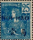 """[Indochina Postage Stamps Overprinted """"HOI-HAO"""", type C7]"""