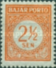 [Numeral Stamps - Watermarked, Typ B]