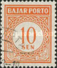[Numeral Stamps, Typ B10]