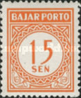 [Numeral Stamps, Typ B11]