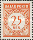 [Numeral Stamps, Typ B13]