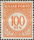 [Numeral Stamps, Typ B16]