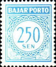[Numeral Stamps, Typ B19]