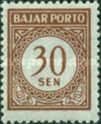 [Numeral Stamps, Typ B8]