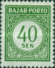 [Numeral Stamps, Typ B9]