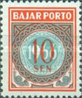 [Numeral Stamps, Typ G1]
