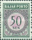 [Numeral Stamps, Typ G5]