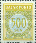 [Numeral Stamps, Typ G8]