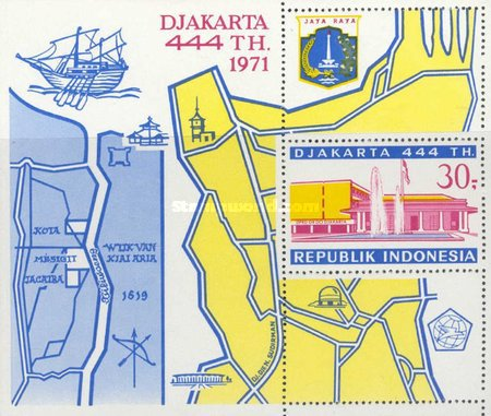 [The 444th Anniversary of Jakarta, type ]