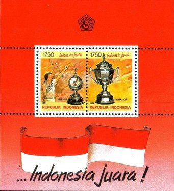 [Indonesian Victories in World Team Badminton Championships, Typ ]