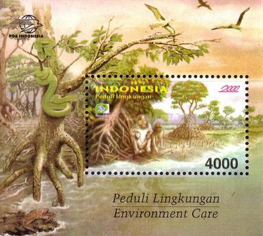 [Environmental Protection - Ecophila Day of the Stamp, Typ ]