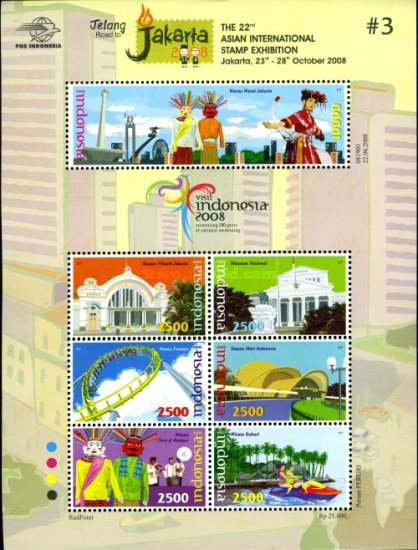 [Road to Jakarta 2008 - 22nd Asian International Stamp Exhibition, type ]