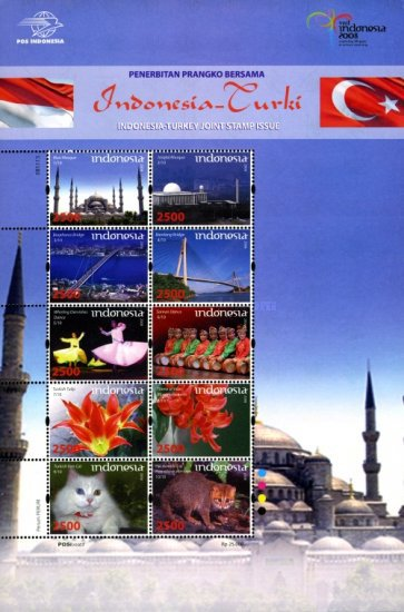 [Joint Issue - Indonesia-Turkey, Typ ]
