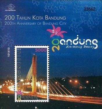 [The 200th Anniversary of the City of Bandung, type ]