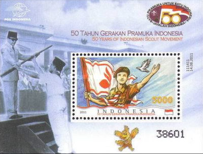 [The 50th Anniversary of the Indonesian Scout Movement, Typ ]