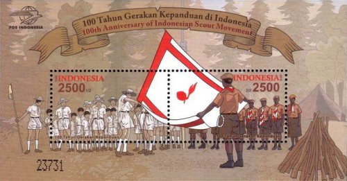 [The 100th Anniversary of the Indonesian Scout Movement, Typ ]