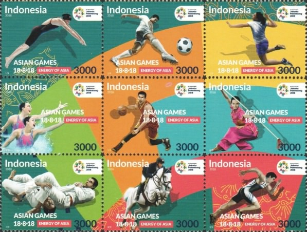 [Sporths - The 18th Asian Games, Indonesia, Typ ]