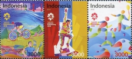 [Sports - The 18th Asian Games, Indonesia, Typ ]