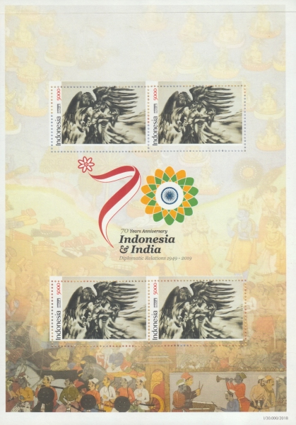 [The 70th Anniversary of Diplomatic Relations with India, type ]