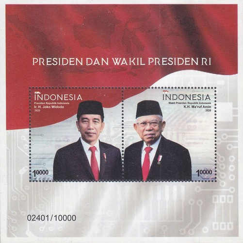 [The President and Vice President of Indonesia, type ]