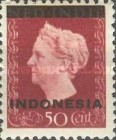 [Queen Wilhelmina - Netherlands Indies Stamps Overprinted