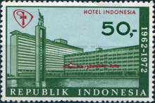 [The 10th Anniversary of Hotel Indonesia, type AAS]