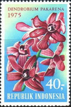 [Tourism - Indonesian Orchids, Typ AEQ]