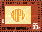 [The 15th Anniversary of Asian-Oceanic Postal Union, Typ AGS]