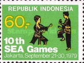 [The 10th South East Asia Games, Jakarta, Typ AJK]
