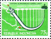 [Inauguration of Singapore-Indonesia Submarine Cable, type ALA]