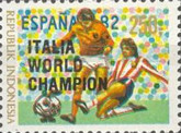 [Winners of the Football World Cup in Spain - Issue of 1982 Overprinted