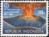 [The 100th Anniversary of Krakatoa Volcanic Eruption, Typ AQC]