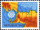 [The 100th Anniversary of Krakatoa Volcanic Eruption, Typ AQD]