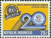 [The 460th Anniversary of Jakarta and 20th Anniversary of Jakarta Fair, Typ AUT]