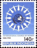 [The 100th Anniversary of International Women's Council, Typ AWC]